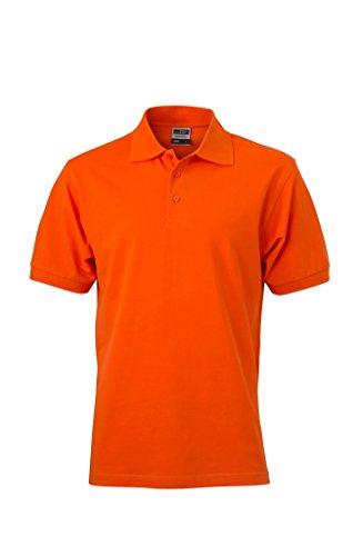 Polo-Shirt - taglia S-3XL, 30 colori, di alta qualità arancione scuro