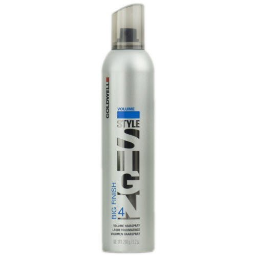 Goldwell Style Sign Big 4 Finish Volume Hairspray for Unisex, 9.2 Ounce by Goldwell [Beauty] (English Manual) - Goldwell Volume Big Finish
