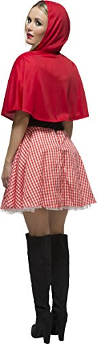 Imagen de smiffy's  disfraz de caperucita roja para mujer, talla uk 8  10 38490s  alternativa