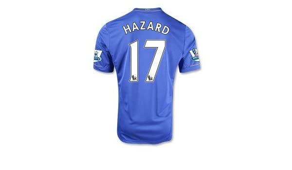 e86a0df9e Chelsea 2012 13 Eden Hazard  17 Home Jersey Shirt   Shorts Size XL  Amazon. co.uk  Sports   Outdoors