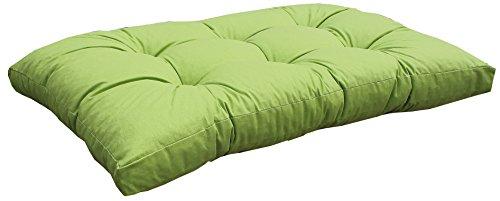 Beo Palettenkissen Loungekissen Sitzkissen Polster für Palette Europalette hellgrün 120 x 80 cm