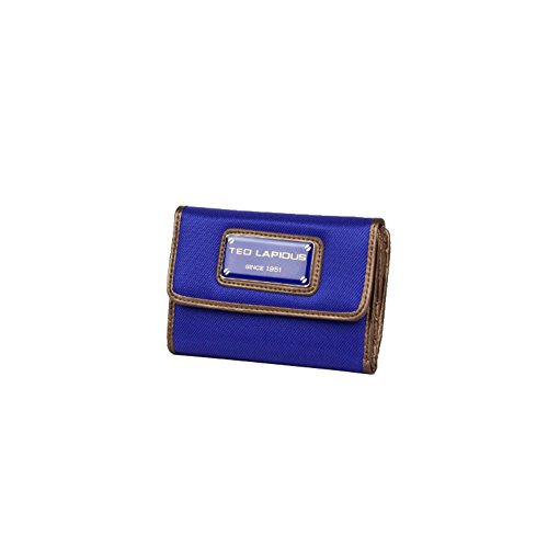 Porte monnaie toile Ted Lapidus Tonic TL NY42002 - Bleu