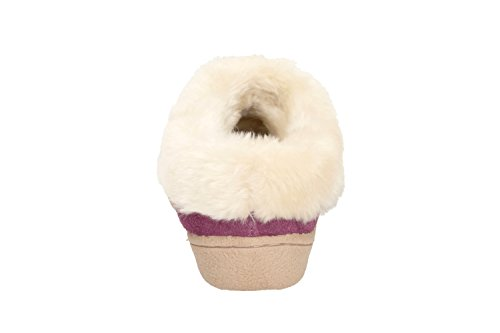 Clarks Eskimo Snow Berry Suede Berry Kid Suede