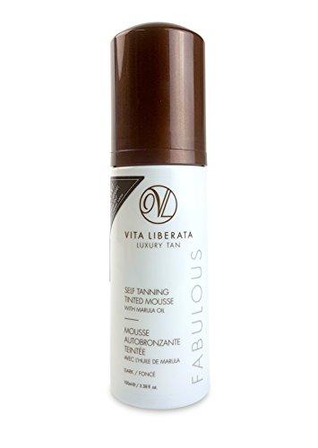 Vita Liberata Fabulous Self Tanning Tinted Mousse Dark