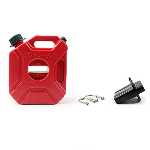 Areyourshop Portable gas tanica plastica serbatoio benzina ATV UTV moto/auto Gokart