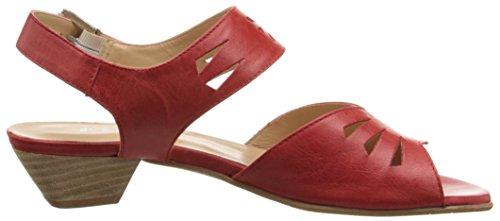 Fidji V112 Cuir Sandale red
