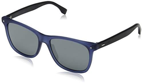 Fendi Herren FF M0002/S T4 PJP 55 Sonnenbrille, Blau (Bluette Grey)