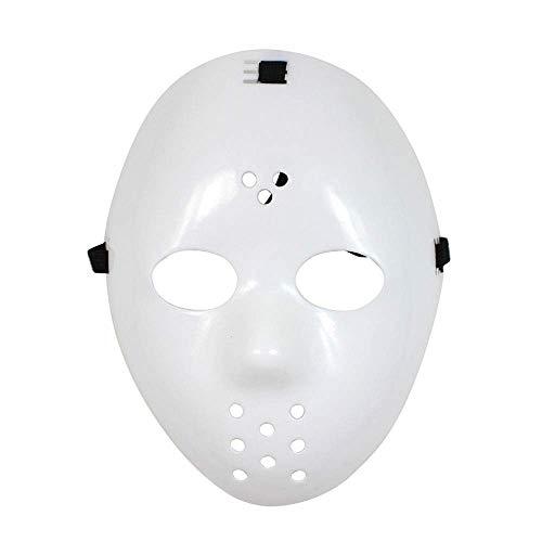YaPin Jason Voorhees Maske Maskerade Party Cos Freddy VS Jason Eishockey Maske (Gesicht Voorhees Jason)