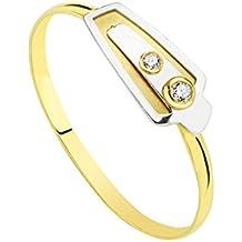 416a3af0866f Alda Joyeros Sortija Oro Bicolor Plautila 18 Ktes - 1ª Comunión niña