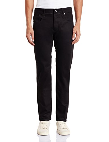 G-STAR Herren 3301 Slim Jeans, Schwarz (Black  Raw 6245-001), 32W / 30L