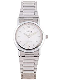 Pass Pass Fashionable White Dial Analog Wrist Watch For Women And Girls