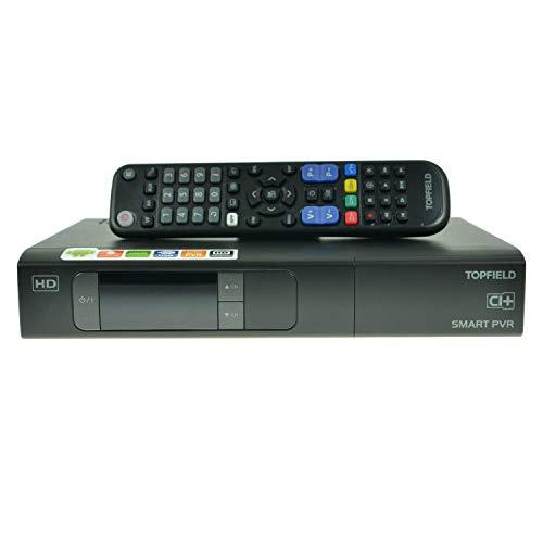 festplattenresiver Topfield SRP 2401 CI+ Urban HDTV Twin Sat Receiver mit Festplatte 500 GB Festplatte, Android 4.2