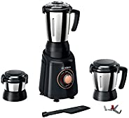 Bosch Appliances TrueMixx Bold 600-Watt Mixer Grinder with 3 Jars (Black)