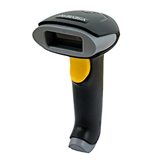 Laser Barcodescanner ALBASCA® TS-500 | USB Anschluss | Laser Handscanner/Hand Lesegerät | Unterstützt Deutschland und andere Sprachen