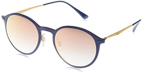 Ray-Ban RAYBAN Unisex-Erwachsene Sonnenbrille 4224 Blue/Greengradbrownmirrorpink, 49