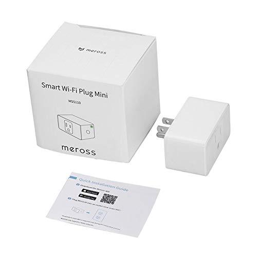 Appearandes Meross Alexa Wi-Fi Smart Plug Socket Switch Wireless Wi-Fi Control US Plug Access Control Device