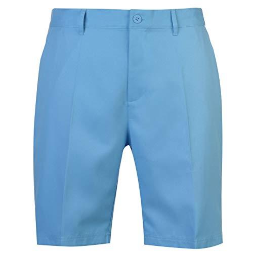 Slazenger Herren Golf Shorts Taschen Unifarben Blau 34 - Golf Shorts Blau