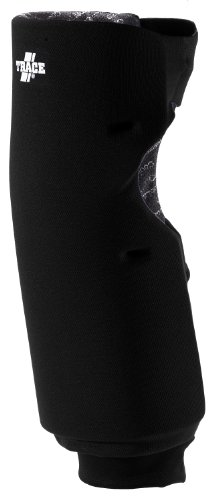Adams USA Trace Long Style Softball Knee Guard, 47000-L-BK, Schwarz, Large -