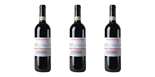 3 Bottiglie di Morellino di Scansano DOCG (Bio) | Cantina Montecivoli | Annata 2015