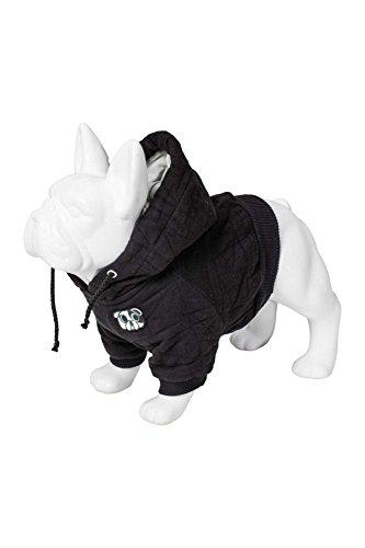 Karl Lagerfeld Haustiere Hunde Pullover Sweater, Farbe: Schwarz, Größe: 30 Hund Hoodie