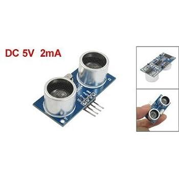 Wallzkey 4-Pin Module ¨¤ ultrasons HC-SR04 Capteur de mesure de distance pour Arduino