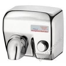 Clintex - Asciugamani Elettrico Acciaio A Pulsante