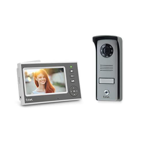 EXTEL - Visiophone sans Fil Mini - adapté pour tous les Piliers Même les Plus étroits