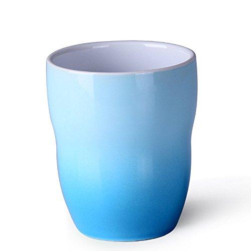 LOYWT Cup, Set, Keramik, Mark Kaffeetasse, Tasse, Milch, Tee, Wasser-Schal, Keramik Cup, Blau -
