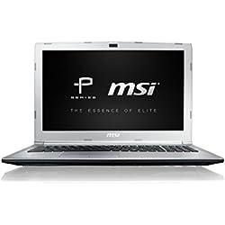 """MSI PL62 7RC-052XES - Ordenador portátil de 15.6"""" HD (Kabylake i7-7700HQ, RAM de 8 GB DDR4, HDD de 1 TB, Nvidia GeForce MX150, sin sistema operativo) color Plateado"""