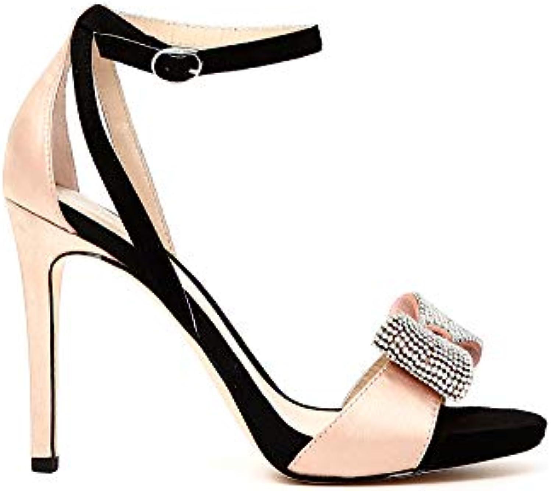 Cafènero Scarpa Sandalo Donna Cafè nero NB928 Cipria Nero | Outlet Online Shop  | Uomini/Donne Scarpa