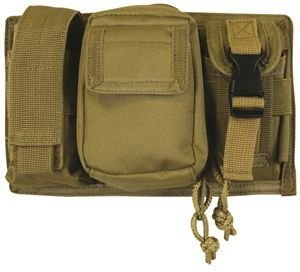 Triple Panel Pouch Coyote by Fox Outdoor Products