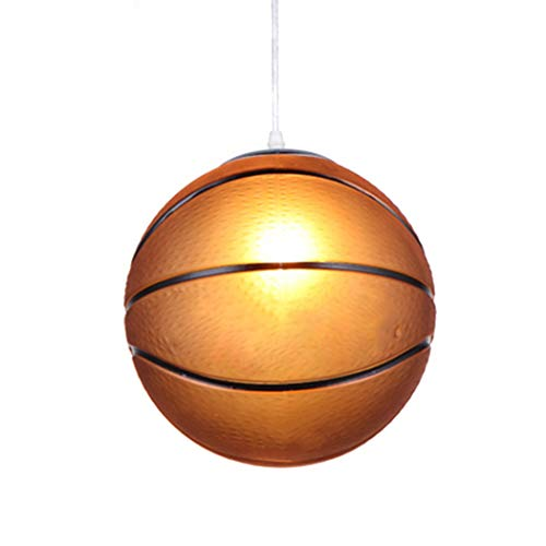 Outgeek Ceiling Light Creative Pendant Lamp E27 Basketball Football Ceiling Lamp Hanging Light Without Light Bulb Buy Online In Macau At Macau Desertcart Com Productid 83437195