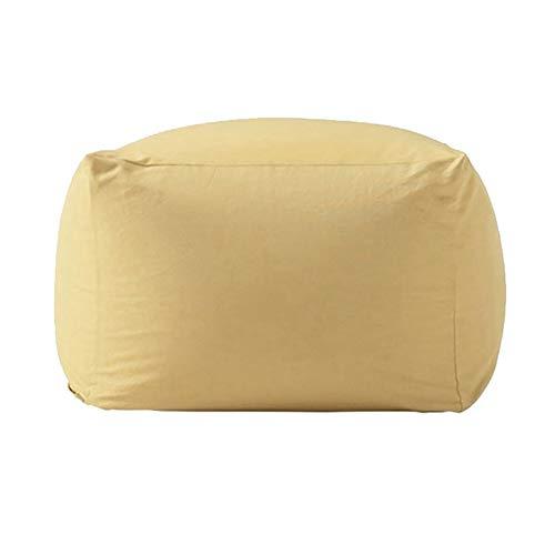 TKLLOVE Lazy Chair,Office Lazy Chair Home Einzelsofa Klappbarer Lehnstuhl - Eps Grain Cotton Linen Grau-Weiß-Streifen - Pink Gestreiften Strand Handtuch
