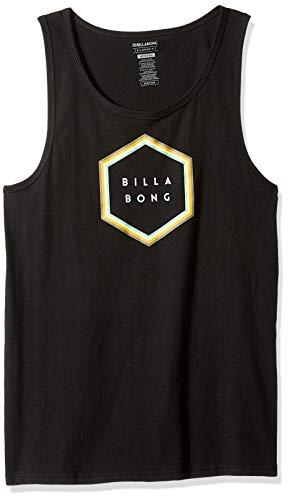 BILLABONG Herren Tank Tops T-Shirt, schwarz, X-Groß - Billabong Jersey Tank-top