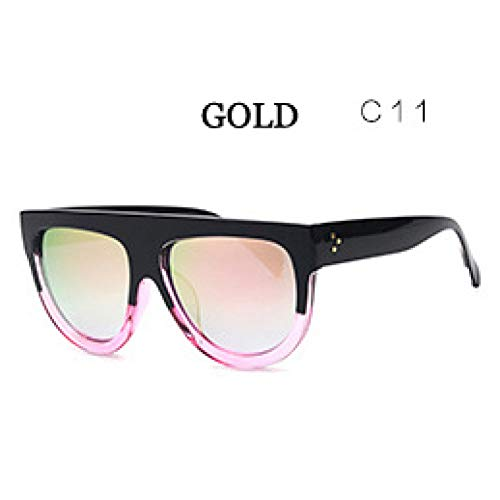 ZRTYJ Sonnenbrillen Hd Minus Reflexionseffekte Objektiv Sonnenbrille Für Frauen Vintage Brand Frame Semi-Randlose Brille Männer Spiegel