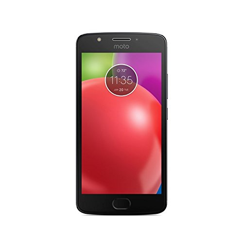 "Motorola Moto E4 - Smartphone libre Android 7 (pantalla 5"" HD 2.5D glass, 4G, cámara de 8 MP, 2 GB, 16 GB, MediaTek MT6737, Quad-core de 1,3 GHz), color gris"