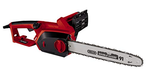 Einhell GH-EC 2040 2000 W Tool Less Electric Chainsaw with 40 cm Oregon Bar - Black, Red