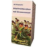 Anti Pickel, Anti Akne Kapseln mit Stiefmütterchen und Brennnessel, 60 Kapseln - auch bei unreiner Haut, Ekzem... preisvergleich bei billige-tabletten.eu