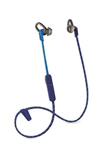 Plantronics Back Beat fit 305 - Auriculares (intraaural, Dentro de Oído, Banda para Cuello, 50-20000 hz, 105 db, 3%, 1,3 cm), Azul