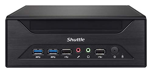SHUTTLE Barebone XPC Slim XH310 schwarz Intel S1151v2 2 x 16GB SO-DIMM DDR4-2666 1x HDMI 2.0 1x DP 1x VGA