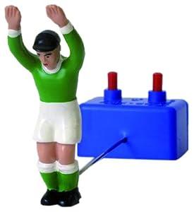 Desconocido Edwin Mieg OHG MIE01209 TIPP Kick Goalie - Juego de Mesa (Madera), Color Verde