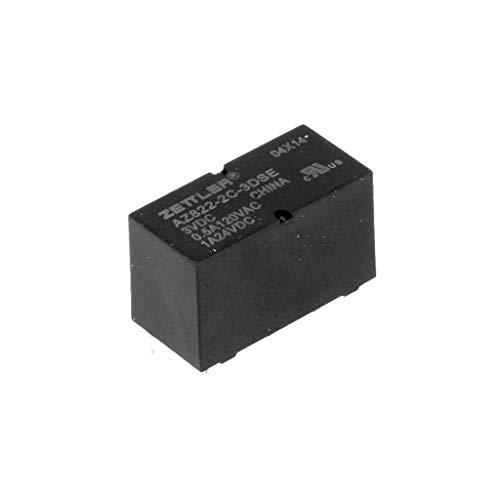 American ZETTLER az822-2C-5dse 5VDC 167Ohm 2A DPDT THT Sub Miniatur Dip Signal Relais - Dpdt Relay-dip