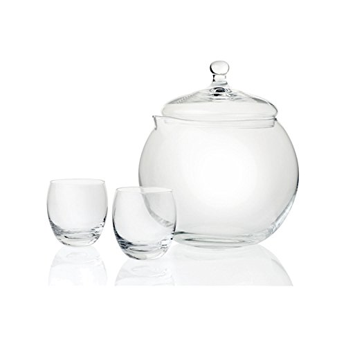 Leonardo - Bowleset - Limito - Bowlekrug + 4 Bowlebecher - Glas - 5 teiliges Set