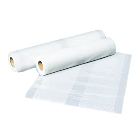 JML Food Sealer - Replacement Rolls to Keep Food Fresh (6m) in 2 Sizes