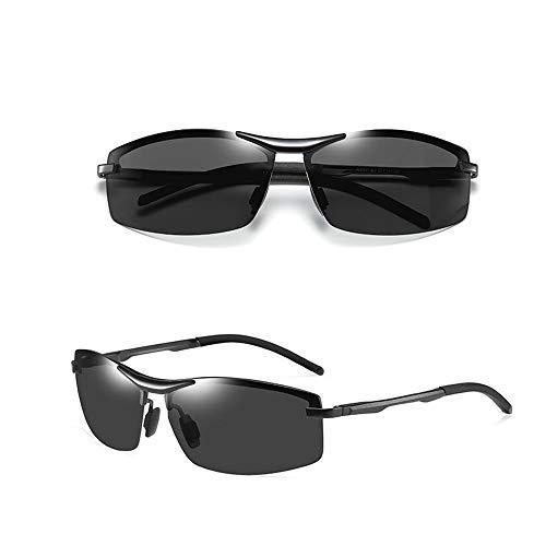 Polarisierte Sonnenbrille Ultraleichter rechteckiger 100% UV-Schutz für Männer