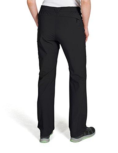 Jack wolfskin pantalon stretch pour femme Noir - noir