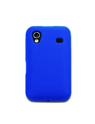 Luxburg In-Colour Design Custodia Cover per Samsung Galaxy Ace GT-S5830 colore blu, in silicone