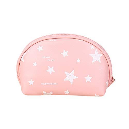 Stern-Taschen-Einkaufstasche Für Frauen Geldbörse MakeUp Tasche Kosmetiktasche School Student Rucksack Für Streu-Mädchen-Kind-Rosa - Bid-tag-taschen