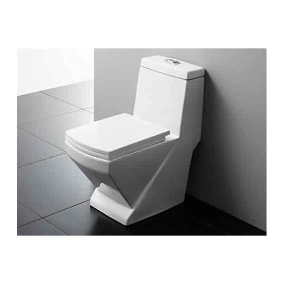 Ceramic Floor Mounted One Piece Water Closet S Trap White (S Trap)