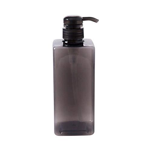 600 ML Bomba De Loción De Gran Capacidad Dispensador Botellas De Viaje Conjunto Champú Gel De Ducha Botella Vacía Artículos De Baño Contenedores De Líquidos Reutilizables